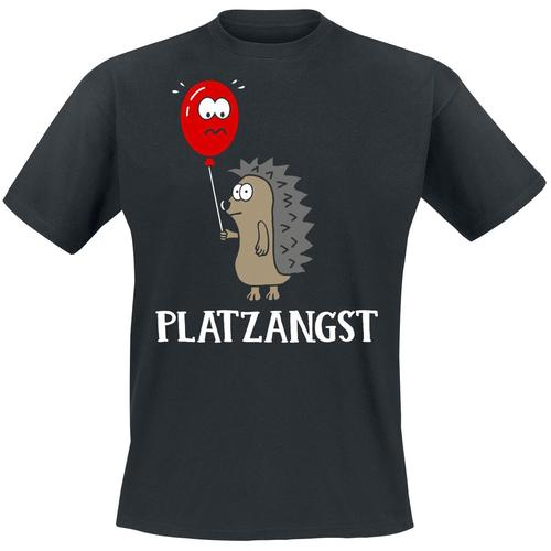 Platzangst Herren-T-Shirt - schwarz