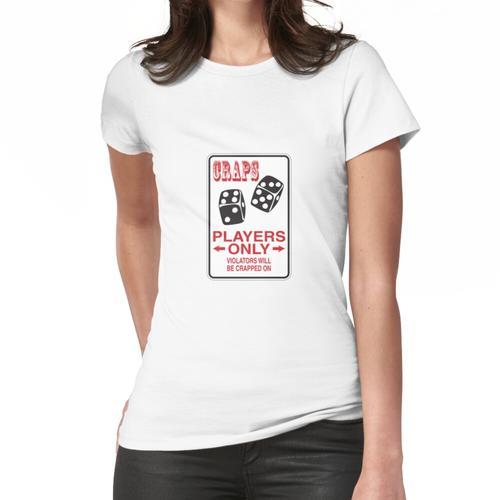 Craps-Zeichen Frauen T-Shirt