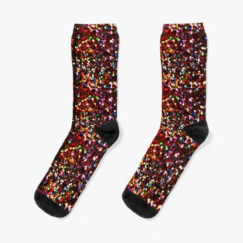 Glitzern Socken