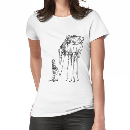 Vogel-Steed Frauen T-Shirt