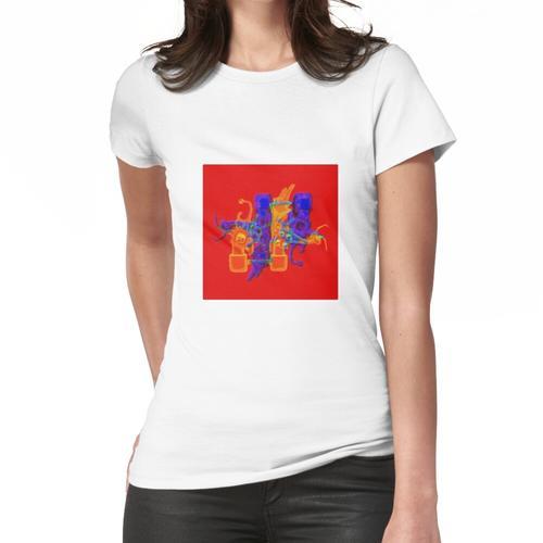 Tanzende Puppen. Frauen T-Shirt