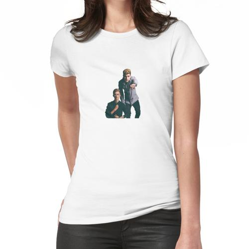 Wagenheber und Wagenheber Frauen T-Shirt