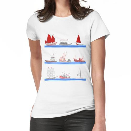 Boote Boote Boote Frauen T-Shirt