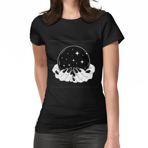 Kristallkugel Frauen T-Shirt