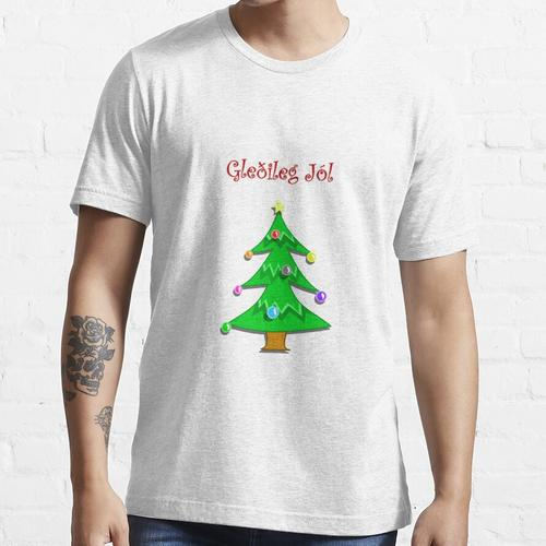 Frohe Weihnachten auf Island (Island) - Gleðileg Jól Essential T-Shirt