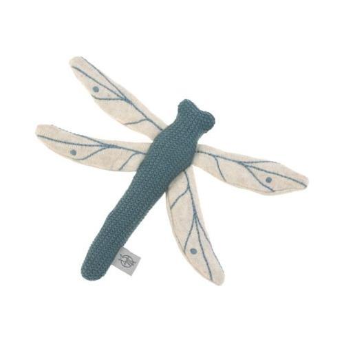Kuscheltier Libelle, blau