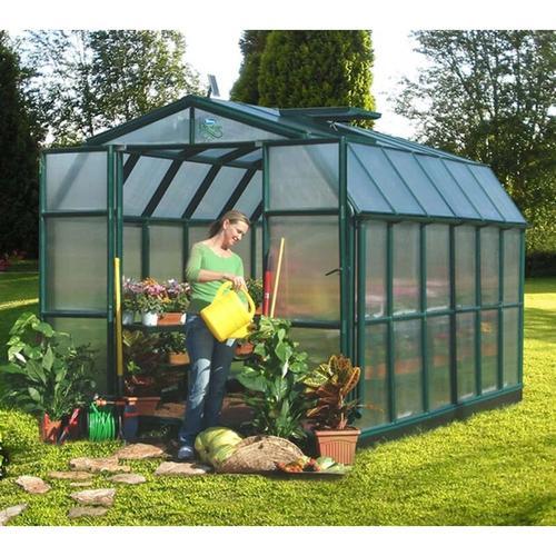 Gewächshaus 'Grand Gardener 46' grün 9,92 m² ohne Fundament - Rion