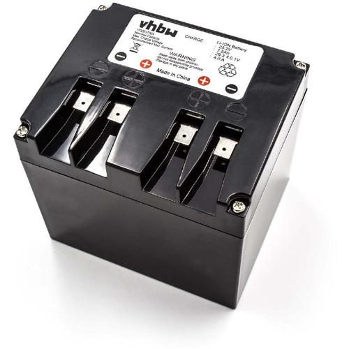 vhbw Li-Ion Akku 7500mAh (25.2V) passend für Rasenmäher Rasenroboter Ambrogio L200 basic, L200