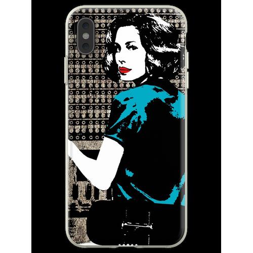 Kabel Mädchen Las Chicas Del Kabel - Lidia Aguilar Retro Flexible Hülle für iPhone XS Max