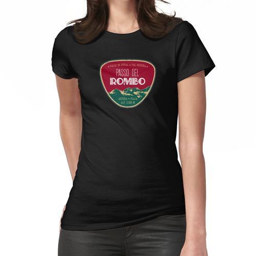 Passo Del Rombo - Timmelsjoch Italien-Österreich T-Shirt + Aufkleber Frauen T-Shirt