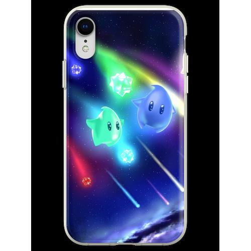 Star Bit Duschen Flexible Hülle für iPhone XR