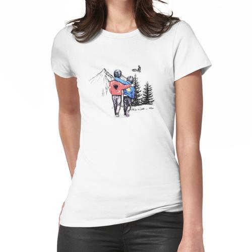 Kosove Shqiperi Frauen T-Shirt