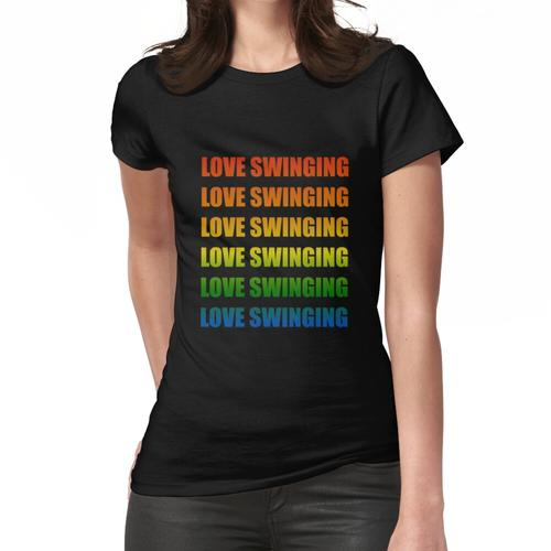 swinger outfit swinger urlaub swinger party Frauen T-Shirt