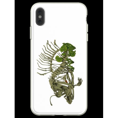 Anglerfisch-Aquarium Flexible Hülle für iPhone XS Max
