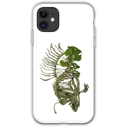 Anglerfisch-Aquarium Flexible Hülle für iPhone 11