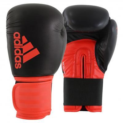 adidas Hybrid 100 Boxing Gloves Black/Red