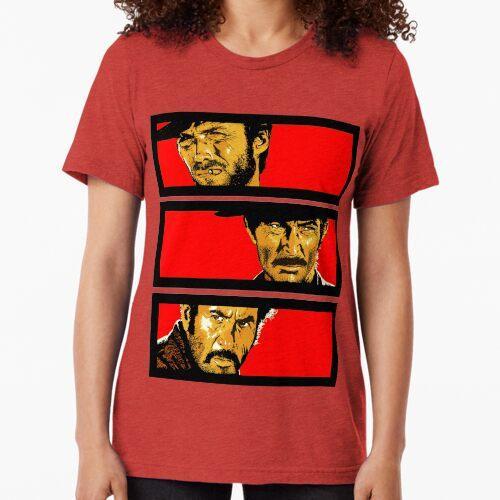 Western duel Tri-blend T-Shirt