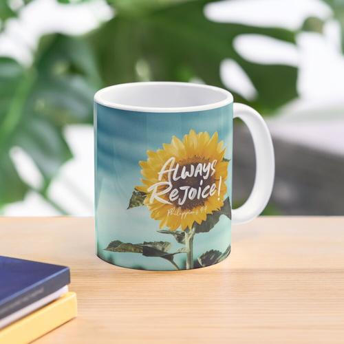 Always Rejoice! Mug