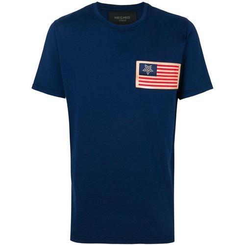 Mr & Mrs Italy T-Shirt mit Flaggen-Patch