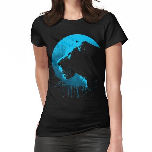 Löwe Blauer Kreis Frauen T-Shirt