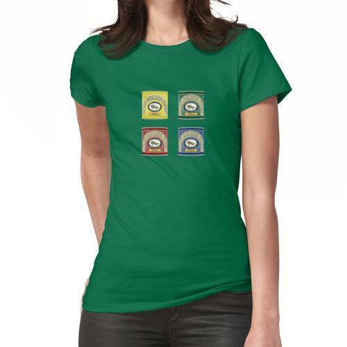 Bunter Lyles goldener Sirup-Zinnentwurf Frauen T-Shirt