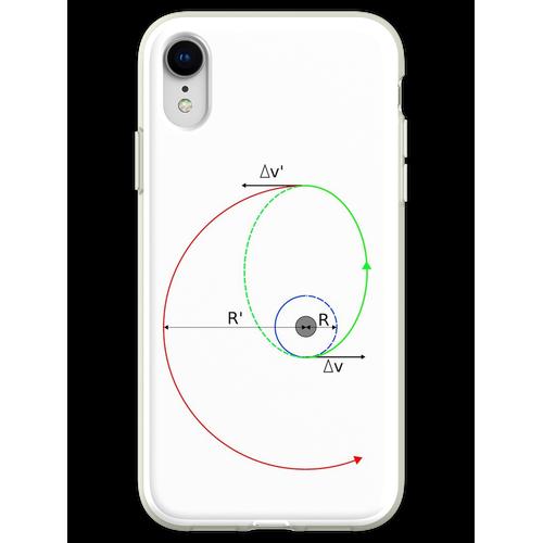 Hohmann Transfer in Farbe Flexible Hülle für iPhone XR