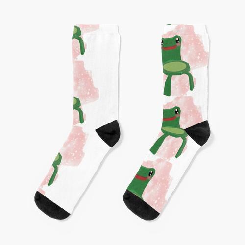 Frosch Stuhl Uwu Socken