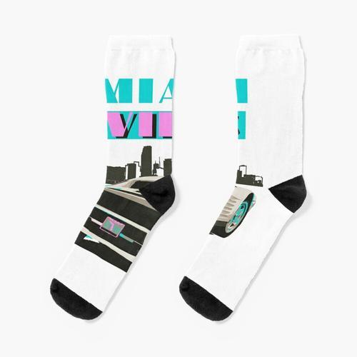 Miami VIBES 1986 Testarossa Socken