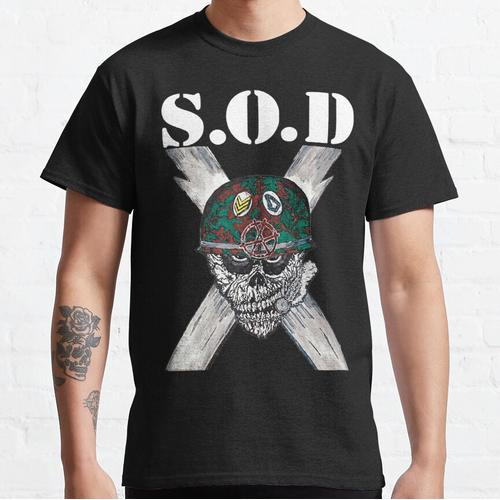 S.O.D (Stormtroopers of Death) Classic T-Shirt