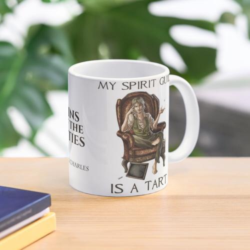 Mein Geistführer ist eine Torte Tasse