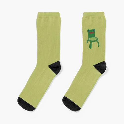 Frosch Stuhl Socken