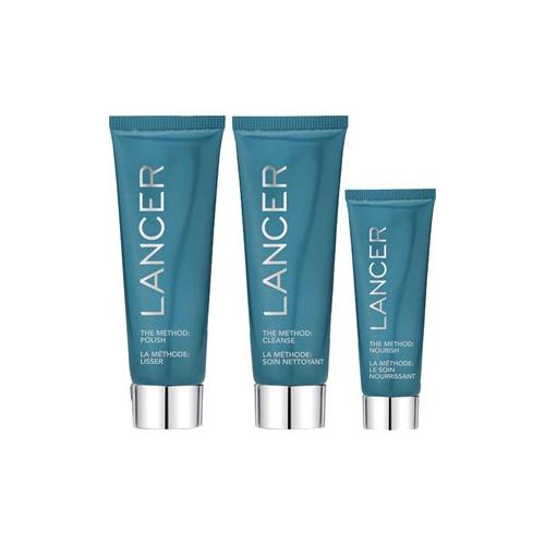 Lancer Pflege The Method: Face The Method 3-Piece Set The Method: Polish 60 ml + The Method: Cleanse 60 ml + The Method: Nourish 22 ml + Beauty Bag 1 Stk.