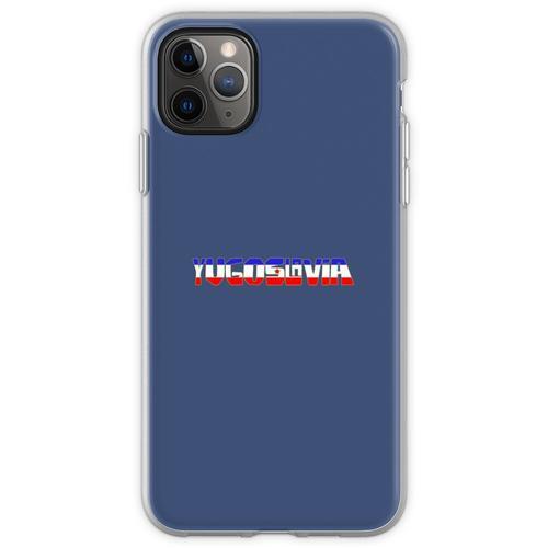 Ex Jugoslawien - Jugoslawien Flexible Hülle für iPhone 11 Pro Max