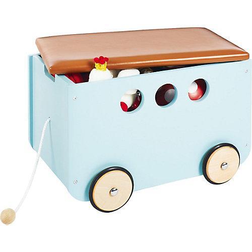 Spielzeugkiste mit Rollen 'Jim', mint