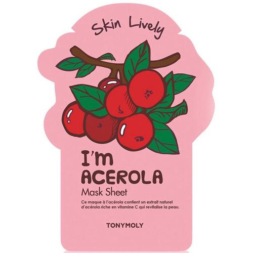 TonyMoly I'm Acerola Mask Sheet 1 Stk. Tuchmaske