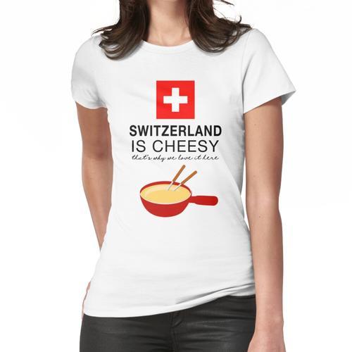 Schweizer Fondue Frauen T-Shirt