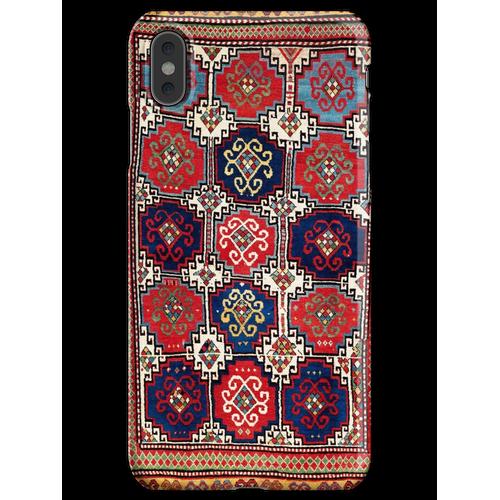 Kazak Antiker kaukasischer Teppich-Druck iPhone XS Max Handyhülle