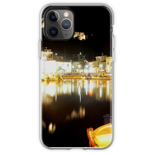 Limnos in der Nacht Flexible Hülle für iPhone 11 Pro