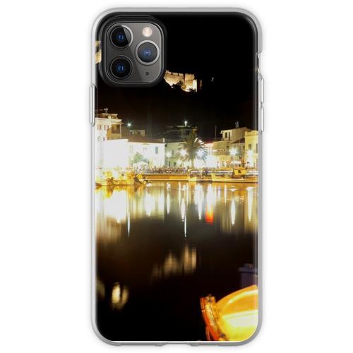 Limnos in der Nacht Flexible Hülle für iPhone 11 Pro Max