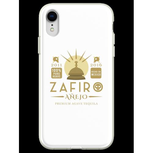 Zafiro Añejo Tequila Flexible Hülle für iPhone XR