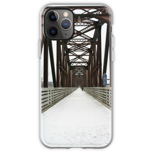 Alte Eisenbahnbrücke Flexible Hülle für iPhone 11 Pro