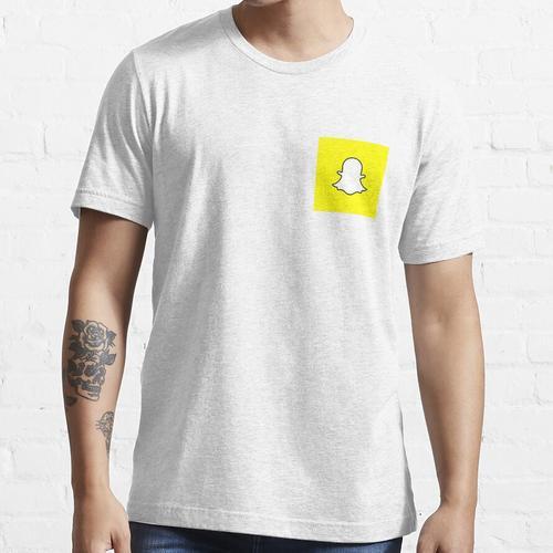 Druckknopf Essential T-Shirt