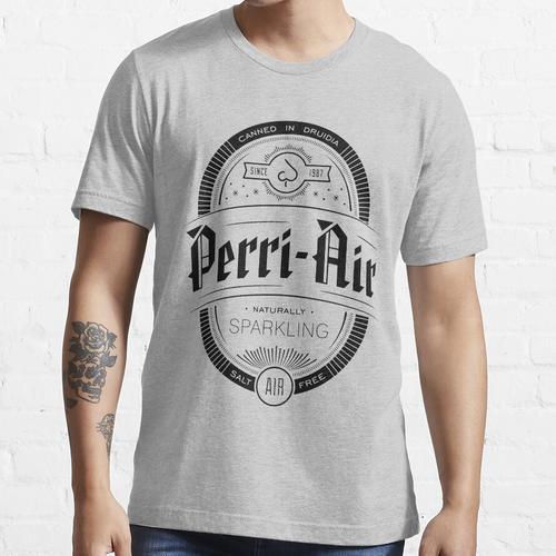 Perri Air Schaumwein Essential T-Shirt
