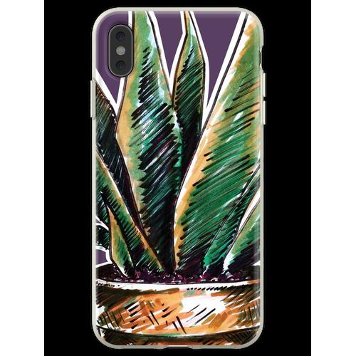 Pflanzen Pflanzen Pflanzen Pflanzen Flexible Hülle für iPhone XS Max