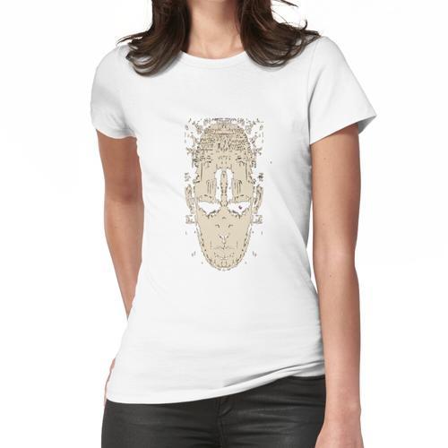 Idia Kultur: Kulturelles Masken Design Frauen T-Shirt