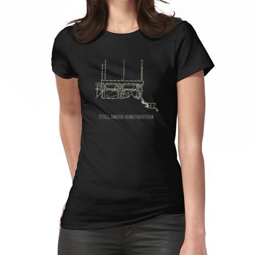 Noch im Aufbau Weiß Frauen T-Shirt