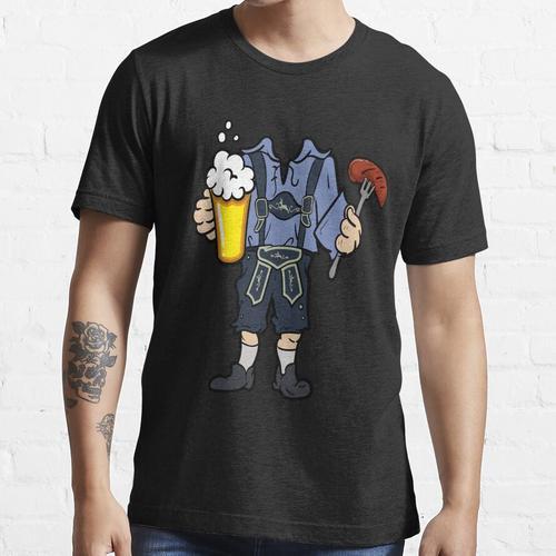 Oktoberfest Lederhose Lederhosn Dirndl Geschenk Shirt Essential T-Shirt