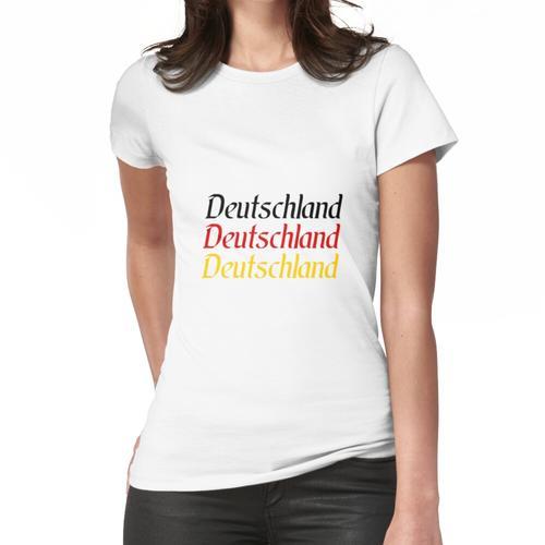 Deutschland Deutschland Deutschland Frauen T-Shirt