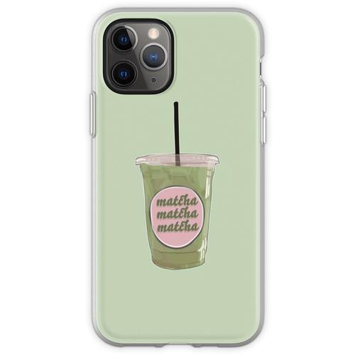 Iced Matcha Matcha Matcha Flexible Hülle für iPhone 11 Pro