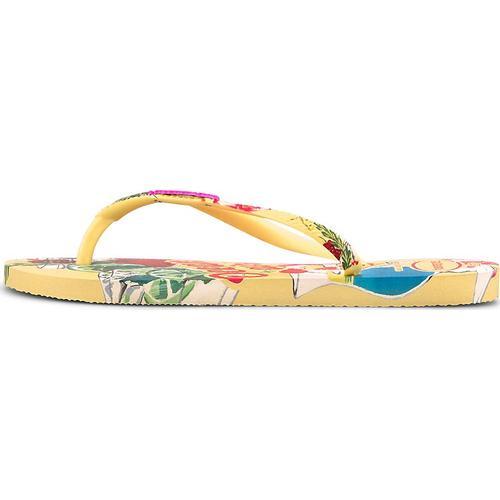 Havaianas, Sandale Havaianas Slim Summer in gelb, Sandalen für Damen Gr. 42